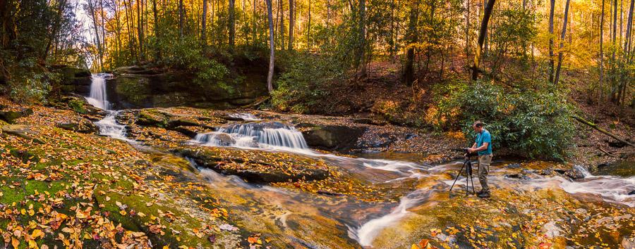 North GA waterfall