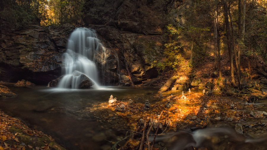 Waterfall in north Georgia