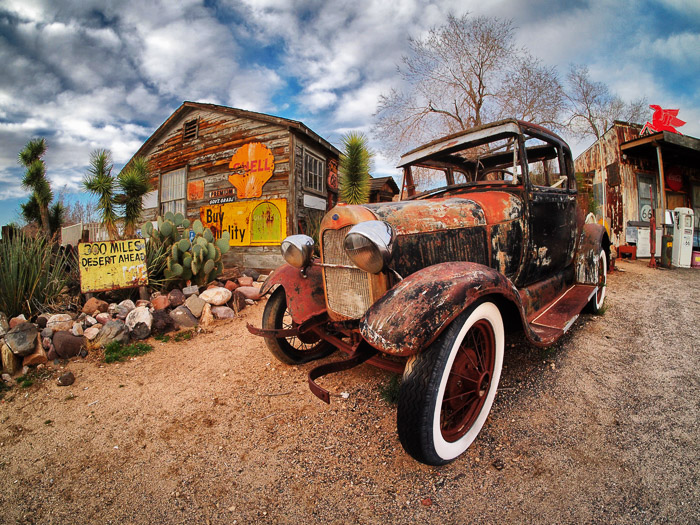 Route 66. October 2020